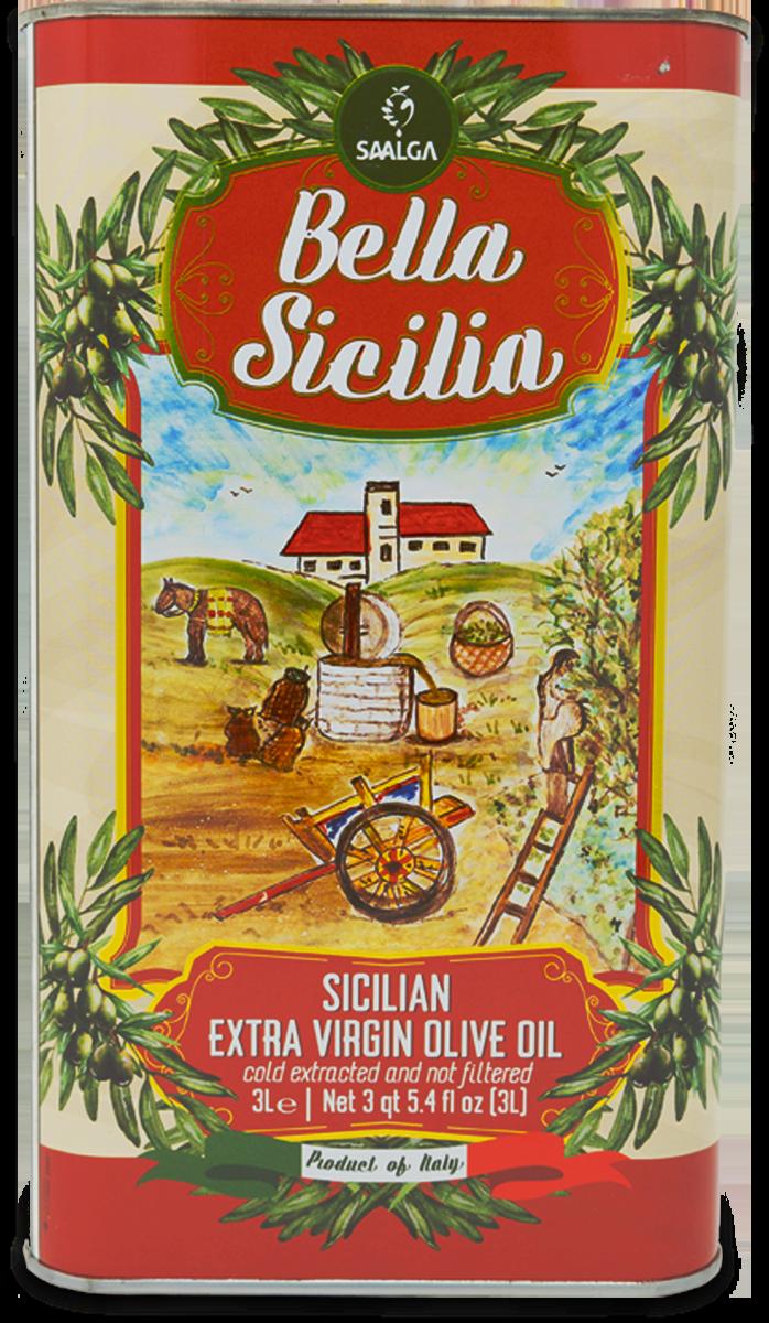 Latta IGP Bella Sicilia - Frantoi Saalga